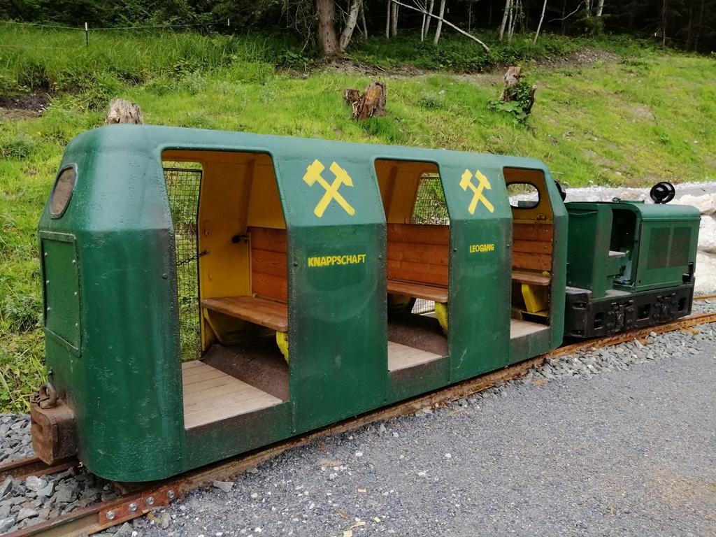 Knappen Leogang Bergwerksbahn